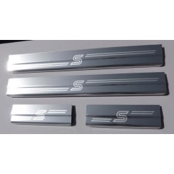 Ford Focus MK2 stainless steel sill protectors for models 2005 to 2011