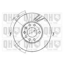 Front brake disc for Vauxhall Meriva - 280mm vented