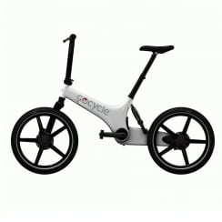 Gocycle G3 Portable White Compact Electric Bike