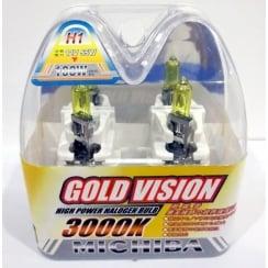 pair of H1 12v 55w 3000k bulbs
