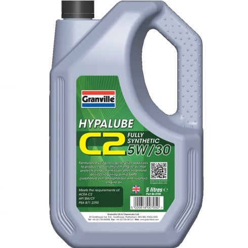Hypalube C2 5W/30 Engine Oil 5 litre full synthetic