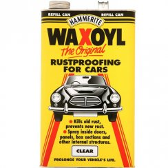 Hammerite 5 litre clear waxoyl refill can