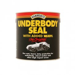 Hammerite car body underseal with added waxoyl - 2.5 litre tin
