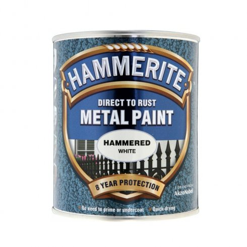 Hammerite dark green smooth metal brushable paint - 750ml