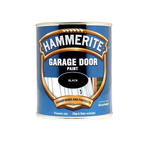 Hammerite Garage Door Paint Black Ml