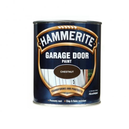 Hammerite garage door paint - Chestnut 750ml