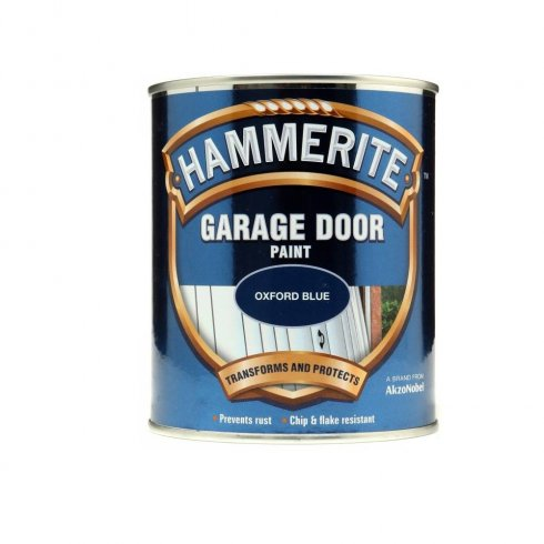 Hammerite garage door paint - Oxford Blue 750ml