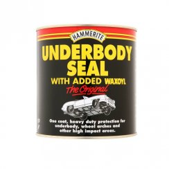 Hammerite car body underseal with added waxoyl - 1 litre tin