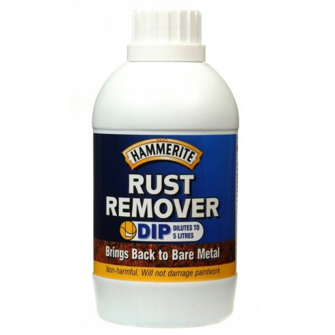 Hammerite rust remover dip 500ml bottle