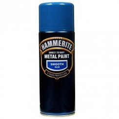 Hammerite smooth blue metal paint 400ml aerosol