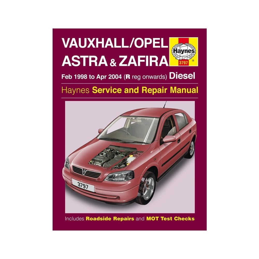 haynes workshop manual for vauxhall opel astra and zafira rh directcarparts  co uk gen ii car