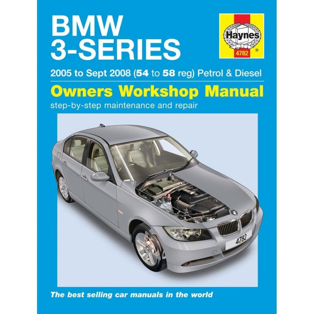 Haynes workshop manual for BMW 3 Series 05-2008 (Petrol & ...
