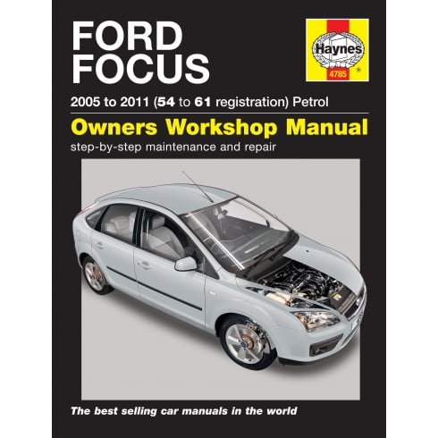 Haynes workshop manual for Ford Focus 05-2009 (Petrol)