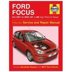 Haynes workshop manual for Ford Focus October 01-2005 (Petrol & Diesel)