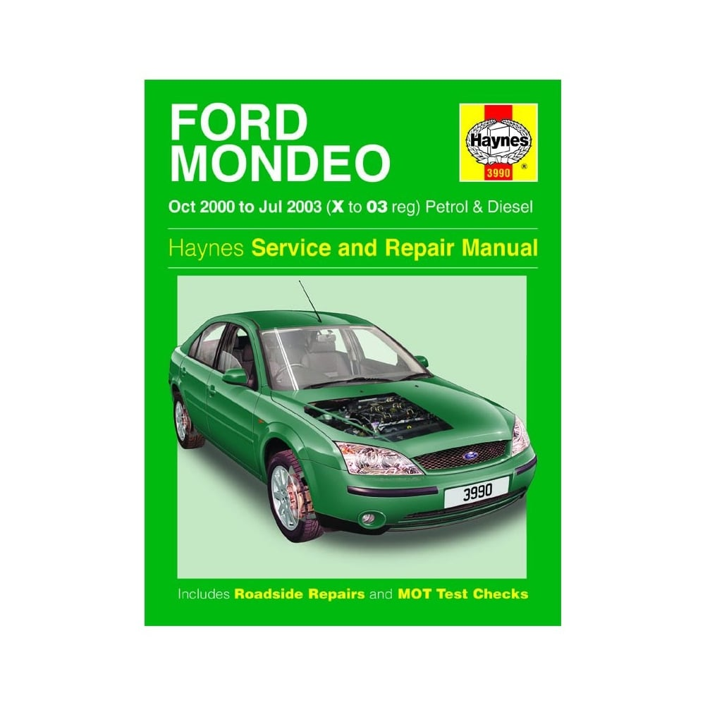 Haynes workshop manual for Ford Mondeo October 00-2003 (Petrol & ...
