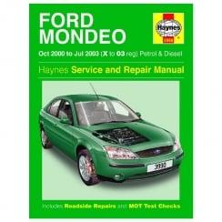 Haynes workshop manual for Ford Mondeo October 00-2003 (Petrol & Diesel)