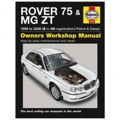 Haynes workshop manual for Rover 75 & MG ZT 99-2006 (Petrol & Diesel)