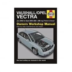 Haynes workshop manual for Vauxhall /Opel Vectra  June 02- September 2005 (Petrol & Diesel)