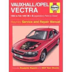 Haynes workshop manual for Vauxhall Vectra 95-1999 (Petrol and Diesel)