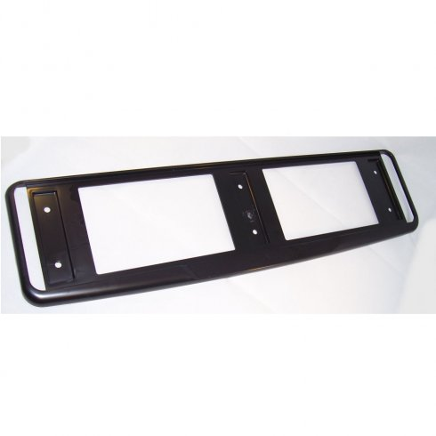 High quality black ABS car number plate surround