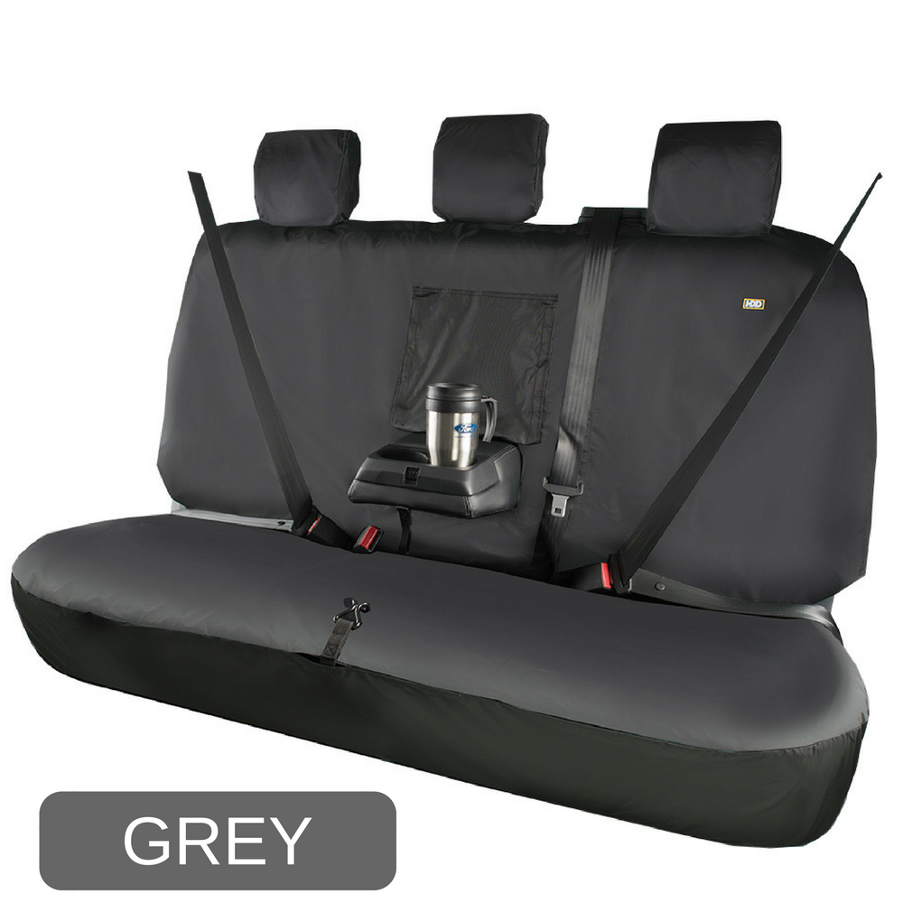 heavy duty design ford ranger grey triple rear seat cover. Black Bedroom Furniture Sets. Home Design Ideas