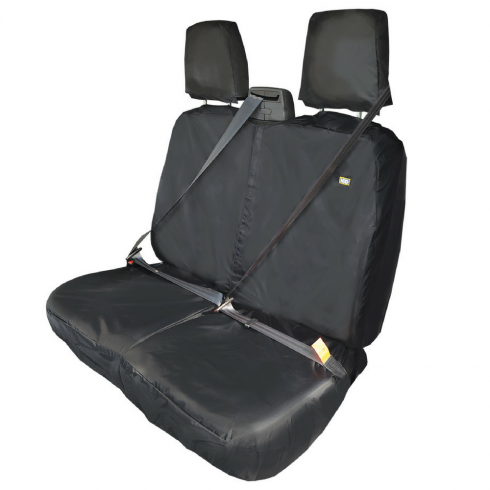 Ford Transit Van 2006-2010 double passenger seat cover (BLACK)