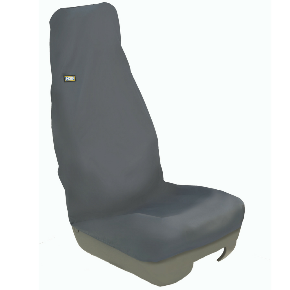 Heavy Duty Design Universal Front Grey Seat Cover From