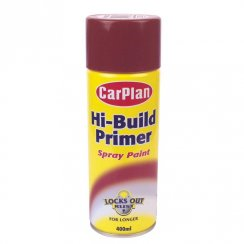 Hi-build red oxide primer 400ml aerosol