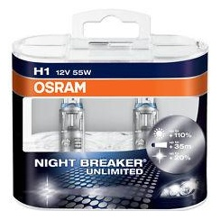 High performance H1 Night Breaker Unlimited car headlight bulbs