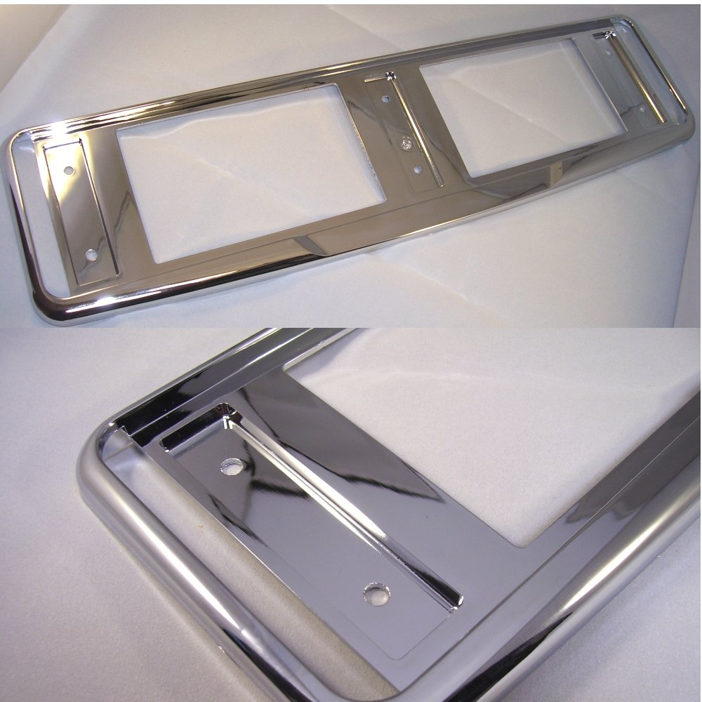 High Quality Chrome Effect Number Plate Surround