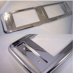 HD Automotive High quality chrome effect car number plate surround & Number Plate Surrounds : Car Number Plates