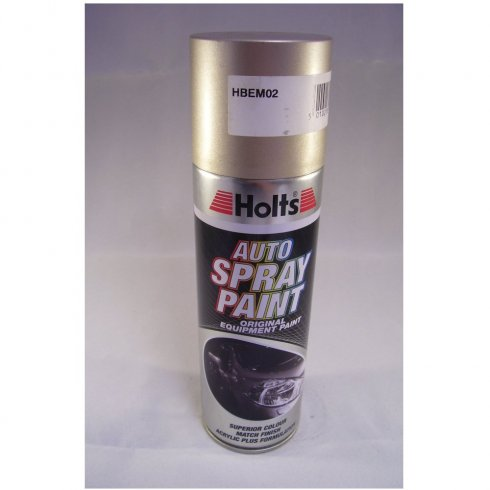 HBEM02 Paint Match Pro aerosol spray paint gold metallic