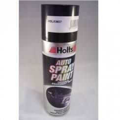 HBLKM07 Paint Match Pro aerosol spray paint black metallic