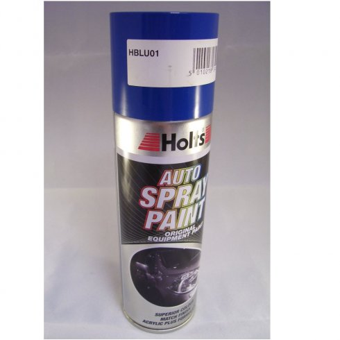 HBLU01 Paint Match Pro aerosol spray paint blue non-metallic