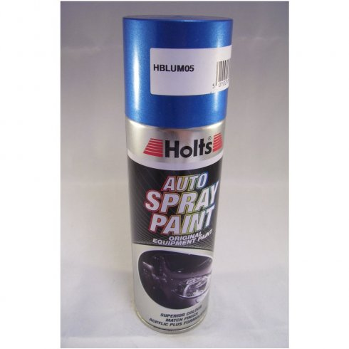 HBLUM05 Paint Match Pro aerosol spray paint blue metallic