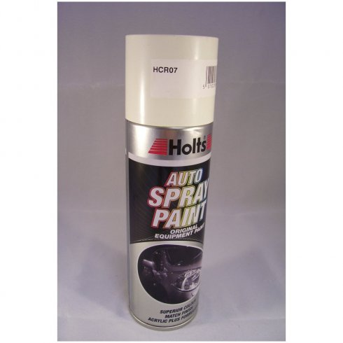HCR07 Paint Match Pro aerosol spray paint white non-metallic