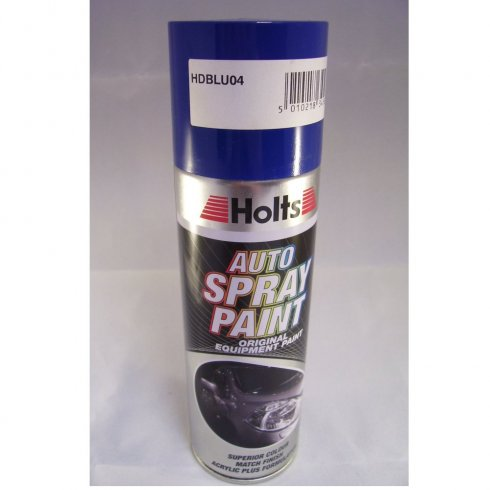 HDBLU04 Paint Match Pro aerosol spray paint blue non-metallic