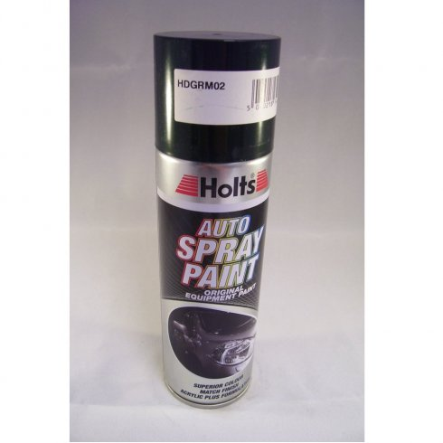 Holts HDGRM02 Paint Match Pro aerosol spray paint green metallic