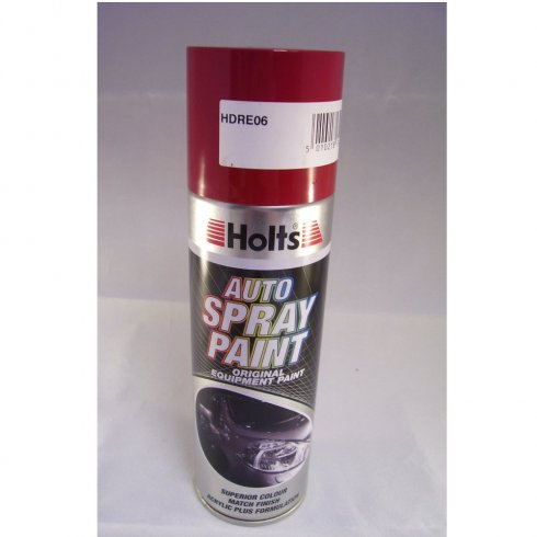 Holts HDRE06 Paint Match Pro aerosol spray paint red non-metallic