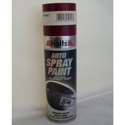 Holts HDREM07 Paint Match Pro aerosol spray paint red metallic