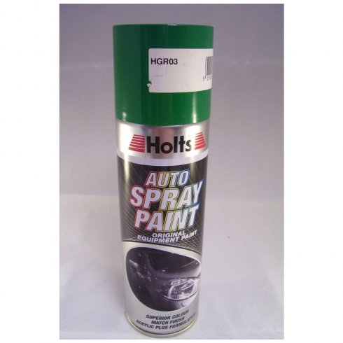Holts HGR03 Paint Match Pro aerosol spray paint green non-metallic