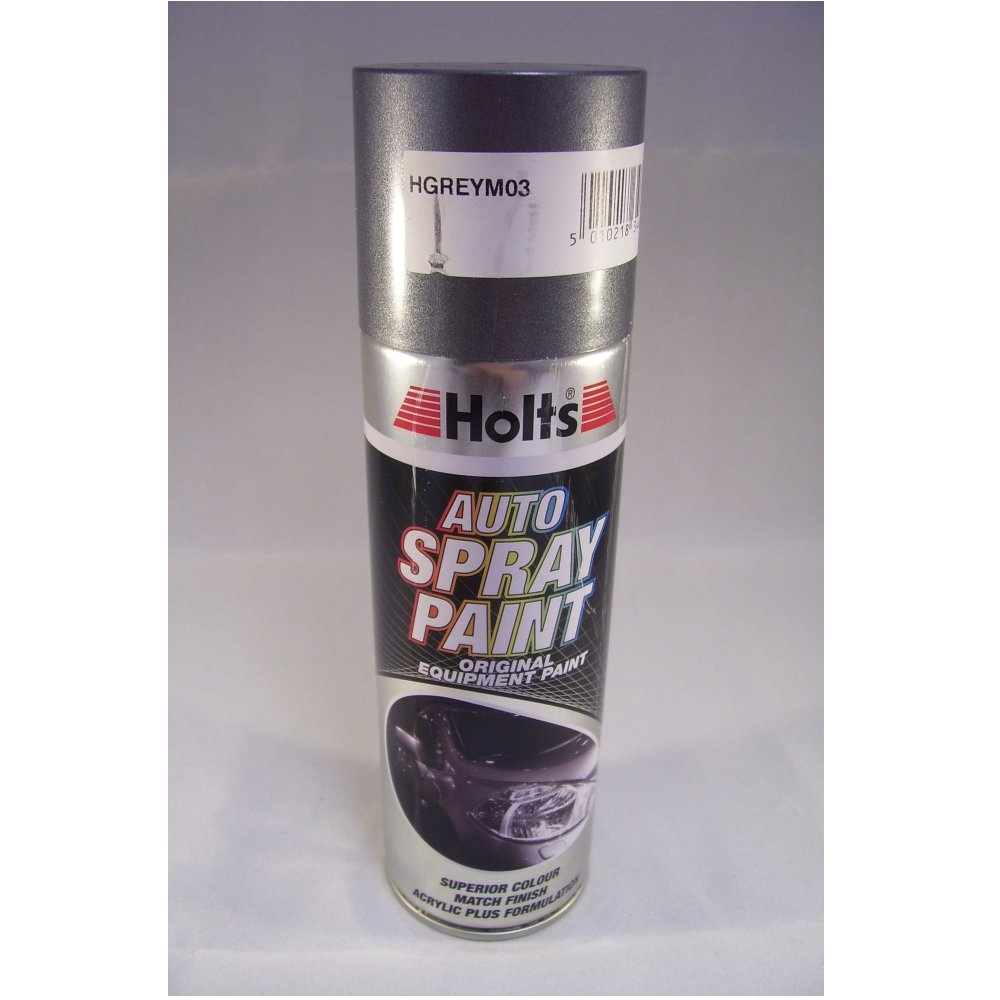 Hgreym03 Holts Paint Match Pro Aerosol Grey Metallic