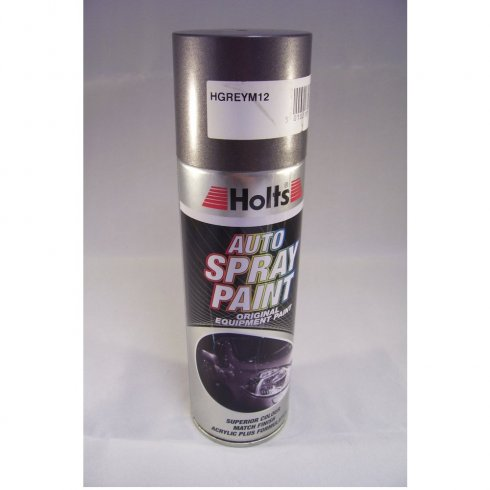 Holts HGREYM12 Paint Match Pro aerosol spray paint grey metallic