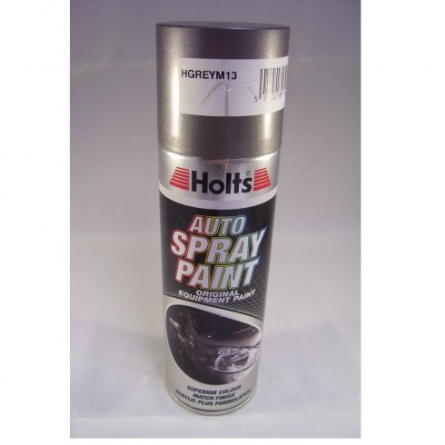 Holts HGREYM13 Paint Match Pro aerosol spray paint grey metallic