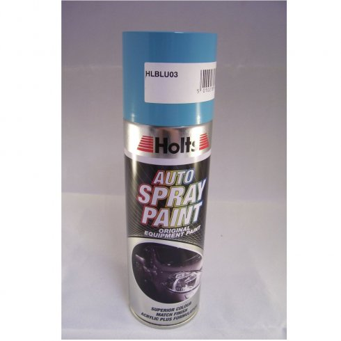 Holts HLBLU03 Paint Match Pro aerosol spray paint light blue