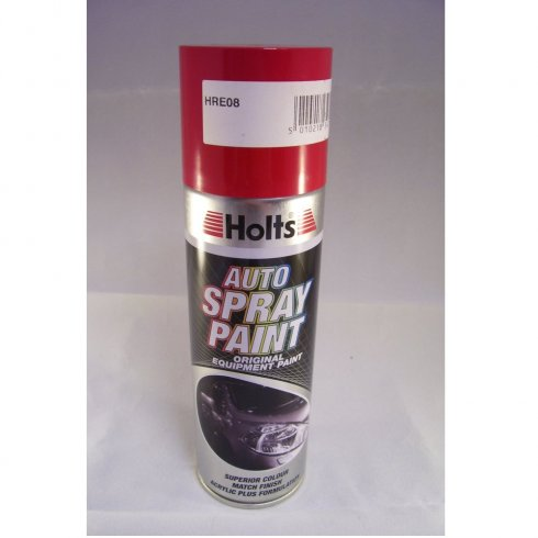 Holts HRE08 Paint Match Pro aerosol spray paint red non-metallic