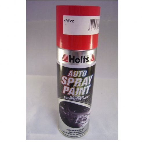 Holts HRE22 Paint Match Pro aerosol spray paint red non-metallic
