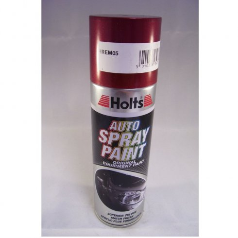 HREM05 Paint Match Pro aerosol spray paint red metallic