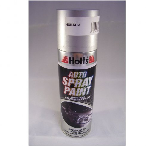 Holts HSILM13 Paint Match Pro aerosol spray paint silver metallic