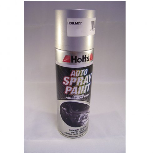 Holts HSILM27 Paint Match Pro aerosol spray paint silver metallic